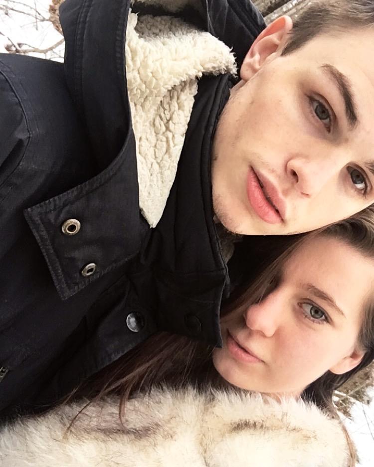 Christian and I