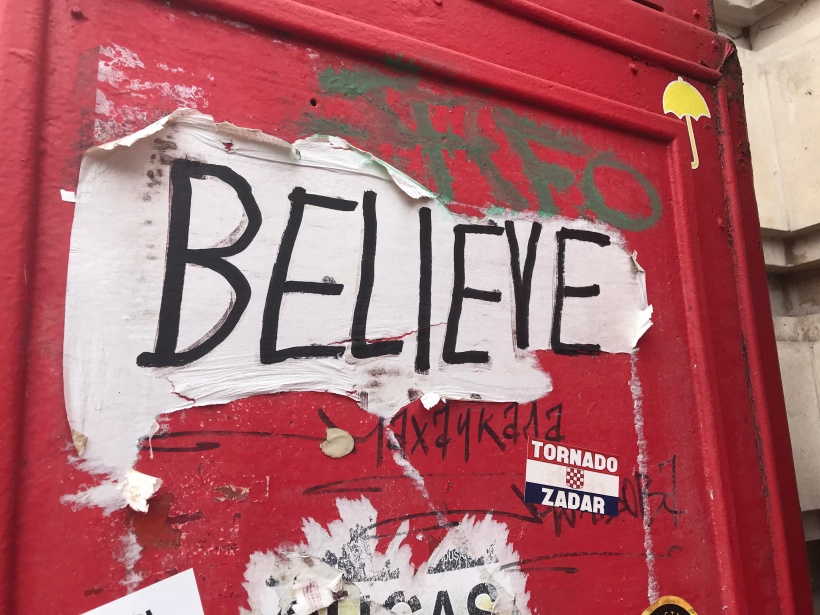 London Photo Diary- Believe