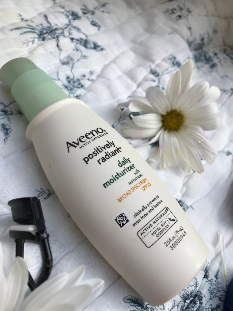 aveeno- positively radiant