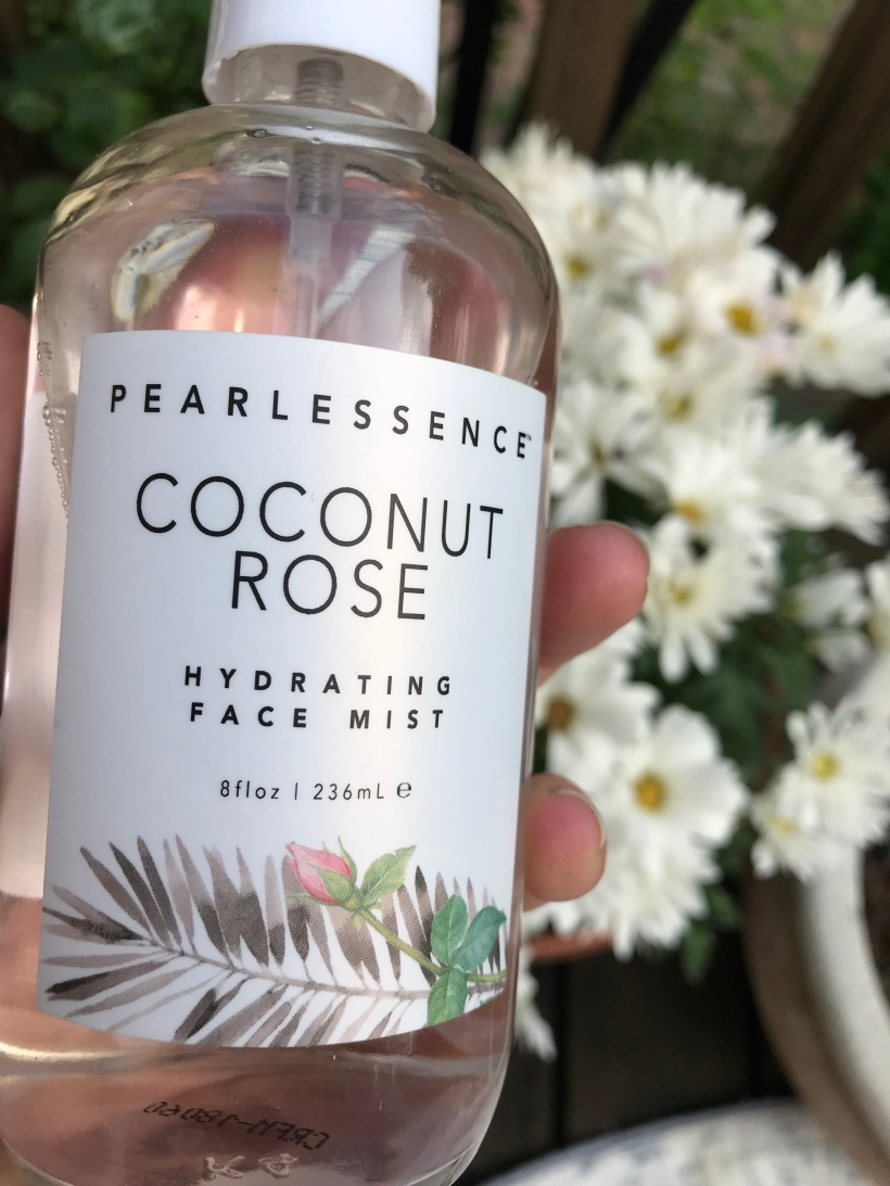 coconut rose water facial mist