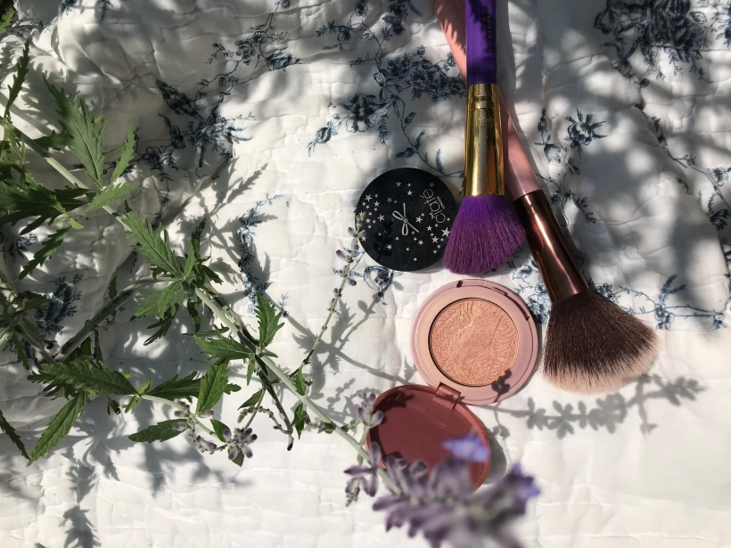 Blush, Bronzer and Brushes
