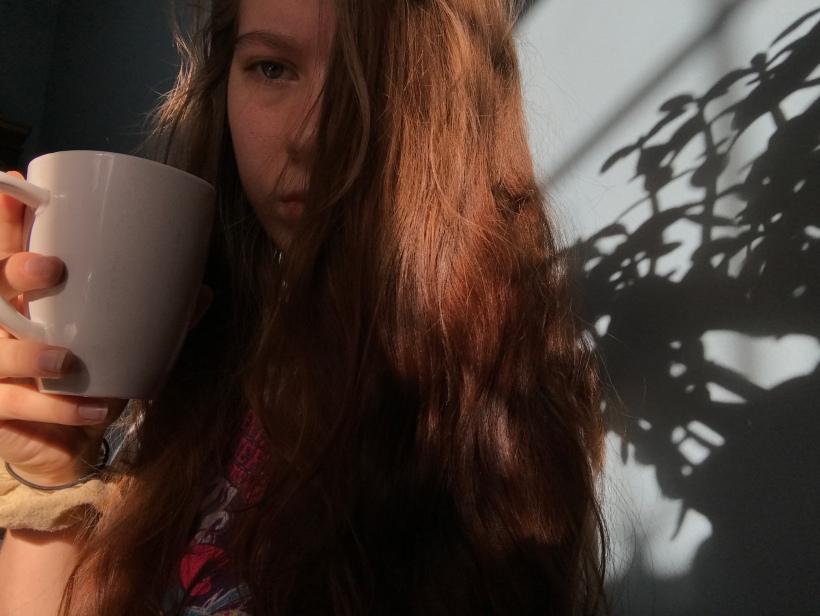 Drinking Coffee (2)